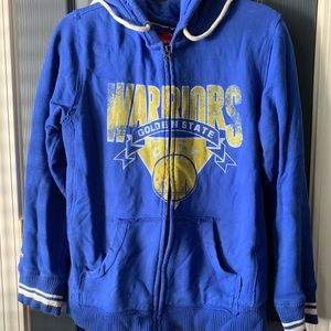 Mitchell & Ness Warriors Zip Hoodie